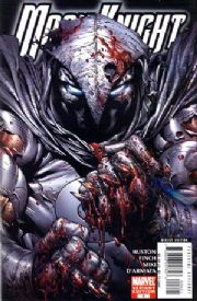 Moon Knight #6 Finch Bloody Variant Marvel comic book